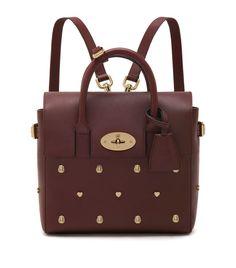 Mulberry Cara Mini Rivet Backpack | Harrods