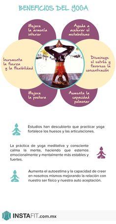 Beneficios del yoga #InstaFit #Fitness #Workout #Yoga