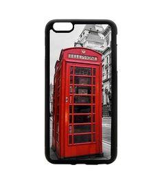 Coque Apple iPhone 5C - Londres cabine téléphonique rouge.