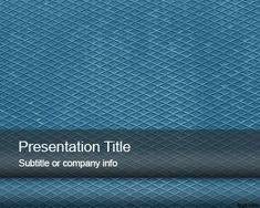 Blue Metal Sheet PowerPoint Template for presentations on engineering and construction