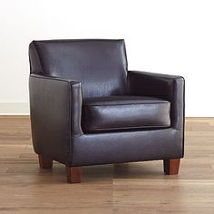 leather chair.