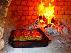 Mediterranean cooking holiday in Greece oven - Zorbas Island apartments in Kokkini Hani, Crete Greece 2020 Mykonos Greece, Crete Greece, Athens Greece, Santorini, Greek Cookbook, Greek Cooking, Greece Holiday, Greek Isles, Greece Islands