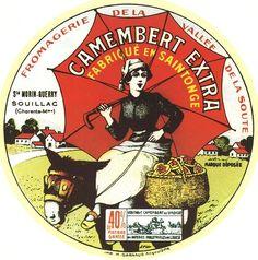 Camembert Extra ~ Fabriqué en Saintonce