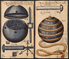 Medieval Grenades