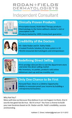Considering starting a home-based business?  Need to spend more time with your family and less at work?  Here are the reasons why Rodan + Fields Dermatologists is your ideal choice for a direct sales business.  Contact me or check out my website for more information! www.jamiehogin.myrandf.com