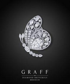 Graff Diamonds: Diamond Butterfly Brooch