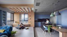 HAO-design-blue-and-glue-apartment-taiwan-designboom-02