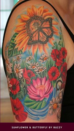 Colourful arm piece
