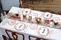 {DIY} Centrotavola di Natale con le mele