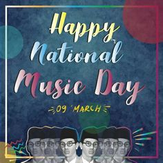 Happy national music day #nationalmusicday #poster #design