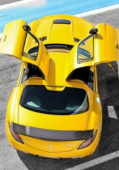 Mercedes SLS AMG Black Series, we get it, but its more extreme with the doors closed.