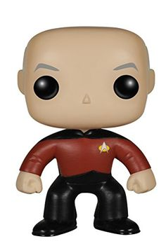 Engage! Straight from his captain's chair on the bridge of the U.S.S. Enterprise Captain Jean-Luc Picard is now a Pop! Vinyl! Standing about 3 3/4-inches tall this Star Trek: The Next Generation C...