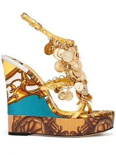 D Spring 2012 Shoes!~~~~~ I would rather have this shoe in a flat with all the coins for summer~