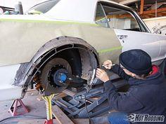 diy wheel flares - Google Search Car Spray Paint, Wheel Flares, Custom Metal Fabrication, Metal Shaping, Auto Body Repair, Panel Truck, Car Restoration, Karting, Fender Flares