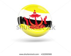Find Flag Brunei Round Icon Illustration stock images in HD and millions of other royalty-free stock photos, illustrations and vectors in the Shutterstock collection. Thousands of new, high-quality pictures added every day. Brunei, Superhero Logos, Royalty Free Stock Photos, Flag, Illustration, Pictures, Photos, Science, Illustrations