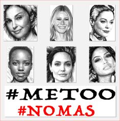 #MeToo #metoo, #nomas, #pasplus, #never, #nomore This artwork was created by Rafael Salazar to shed more light on the Sexual Harrasment issue that plagues our world at the core.  Hope uniting myself to the Cause I can help empower Women, Children, Men and all people who are abused daily in our society. Let's all join hands and actions to Respect Each Other and Create a Better World. Artist from Colombia - Copyright 2017
