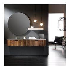 Mueble de baño suspendido Serie VALNÖT - Momentumbath