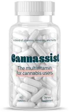 Cannassist | The multivitamin for cannabis users
