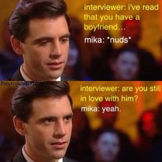 Mika loves his boyfriend <3