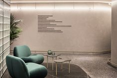 Architecture firm K-Studio has designed a neo-modernist interior for the Perianth Hotel in its hometown of Athens, using local artworks and furnishings. Dark Interiors, Shop Interiors, Office Interiors, Decor Interior Design, Interior Decorating, Interior Shop, Hotel Corridor, Terrazzo Flooring, Co Working