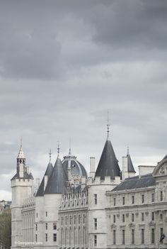 The Conciergerie, Paris, by Georgianna Lane//