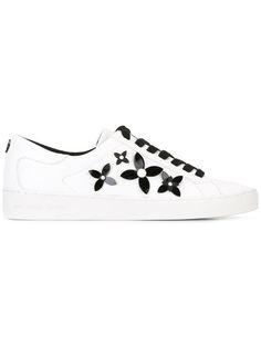 MICHAEL MICHAEL KORS flower detail sneakers. #michaelmichaelkors #shoes #스니커즈