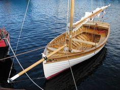 Classic sailboat Askold-15 #woddenboat