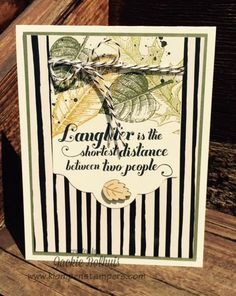 Klompen Stampers (Stampin' Up! Demonstrator Jackie Bolhuis): Fall Is In The Air -- NO!