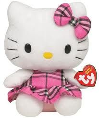 Beanie Babies are so cute, then add #hellokitty?? too much!!