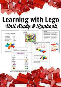 FREE Learning with LEGO Unit Study and Lapbook from Walking by the Way
