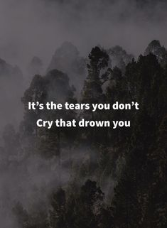 It's the tears you don't cry that drown you. Miss My Best Friend, Missing My Friend, Best Friend Quotes, Loss Quotes, Sad Quotes, Inspirational Quotes, Quotable Quotes, Suicide Quotes, Missing You Quotes For Him