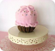Knit Little Cupcake Purse Pattern
