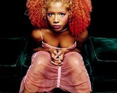 Kelis and her beautiful red hair.