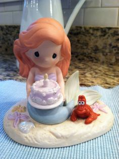 Little Mermaid - Precious Moments ~ I need to get this for Janis this year!!
