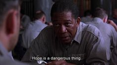 The Shawshank Redemption #hope #moviequotes #escapematter