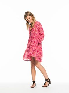 Scotch & Soda present the perfect summer concert dress- floaty flirty and fun!
