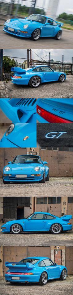 1995 Porsche 993 GT2 / Remy Dargegen RM Sotheby's / 3.6l 450hp B6 / Germany / blue / GBP 1.8 mio / 17-346