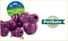 """Dog owners and pups will love this deal: """"One Busy Buddy Barnacle Toy """" as featured on doggyloot.com"""