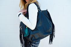 Sporty Starlet* styled by @Polishd4Pennies Fringe Bag $49.99 @marshalls