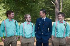 Coast Guard Groom and his Lovely Bride Marry at Last - WeddingLovely Blog