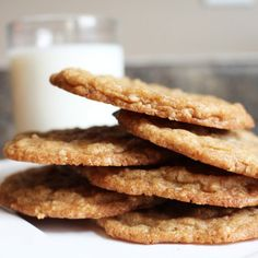 Oatmeal Cookie Butter Cookies
