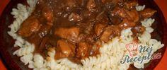 Recept Houbová omáčka s tymiánem Grains, Beef, Food, Pork Cutlets, Meat, Whipped Cream, Food Items, Food Food, Eten