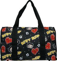 Duffle Bag Betty Boop Head