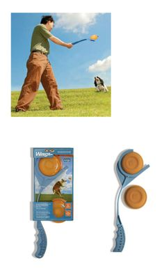 Have a new twist in the classic game of fetch! The Kurgo Winga Dog Disc Thrower is designed  to have an exciting new approach in the popular playtime activity with dogs. This kit contains a thrower and two discs to help you get started in playing with your dog.  #kurgo #dogs