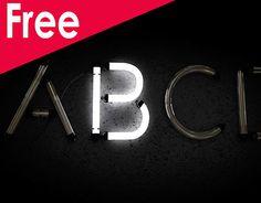 Free Neon Alphabet Laden Sie Cinema on Behance herunter - Neon city - Cinema 4d Download, Cinema 4d Free, Typography Alphabet, Typography Poster, Graphic Design Typography, Chalet Design, Dandy, Cinema 4d Materials, Urban Sport