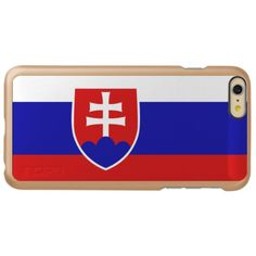 Slovakia Incipio Feather Shine iPhone 6 Plus Case 6s Plus Case, Iphone 6 Plus Case, Iphone Cases, Slovakia Flag, National Flag, Chevrolet Logo, Flags, Create Yourself, Feather