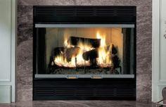 """Majestic Royalton Series 36"""" Heat Circulating Wood Burning #Fireplace"""