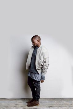 Kanye West. Colour palette. Silhouette. Footwear. Suede.