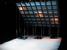Frozen. New Repertory Theatre. Scenic design by Richard Wadsworth Chambers. 2006