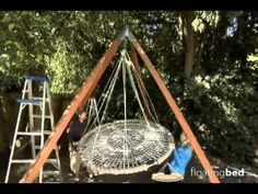 The best hanging bed for better sleep. For your bedroom, outdoor bed, round bed, daybed, canopy bed. Gentle floating motion for deep relaxation. Fun, practical, romantic bed.